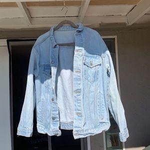 Brandy Melville oversized denim jacket